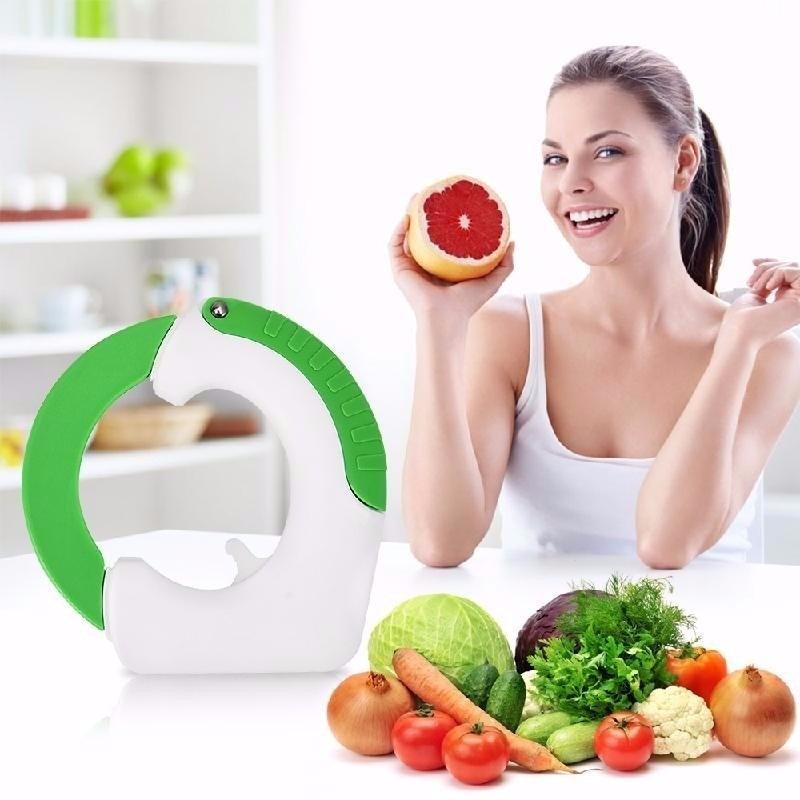 Cuchillo circular para verduras fruta carne pan etc en mercado libre - Cuchillos para decorar fruta ...