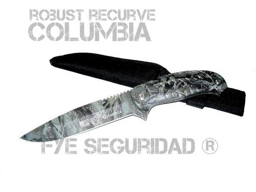 cuchillo columbia camuflado salvaje recurve