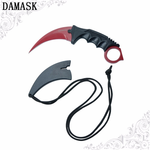 cuchillo combate damask csgo karambit tactico counter strike