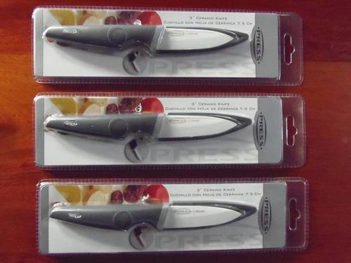 cuchillo  con hoja de ceramica 3  press