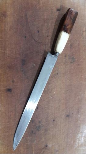 cuchillo criollo artesanal 28cm de hoja