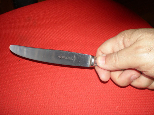 cuchillo de acero para verijero joca solingen inoxidable