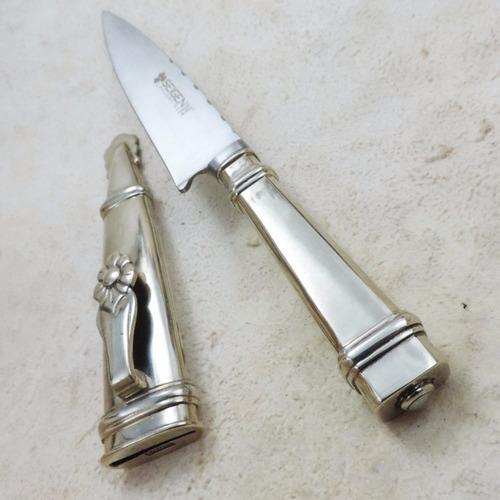 cuchillo de alpaca 14 excelente calidad crespo