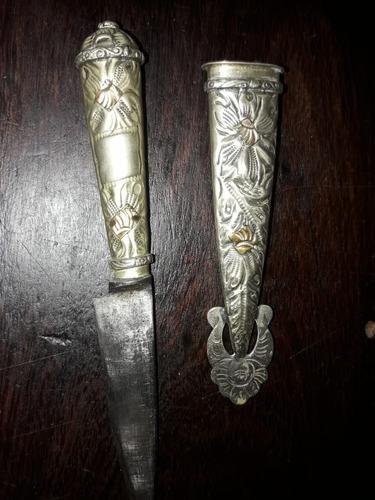 cuchillo de alpaca
