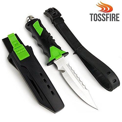 cuchillo de buceo zip | ultra sharp 9 x 1.6 pulgadas buceo c