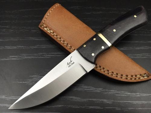 cuchillo de caceria skinner 440c - 8in (js67b)