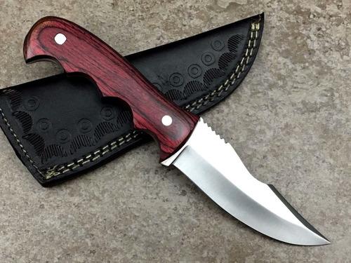 cuchillo de caceria skinner 440c - 9in (hka703-dw)