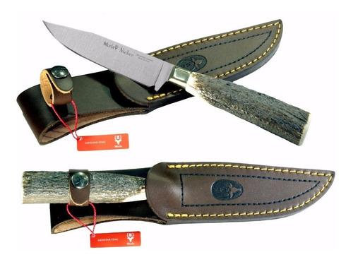 cuchillo de caza muela nicker 11a - casquillo alpaca