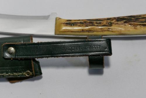 cuchillo de caza y cuereo walter