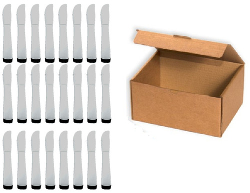 cuchillo de cocina malva de acero inox. 24 pz incluye envío