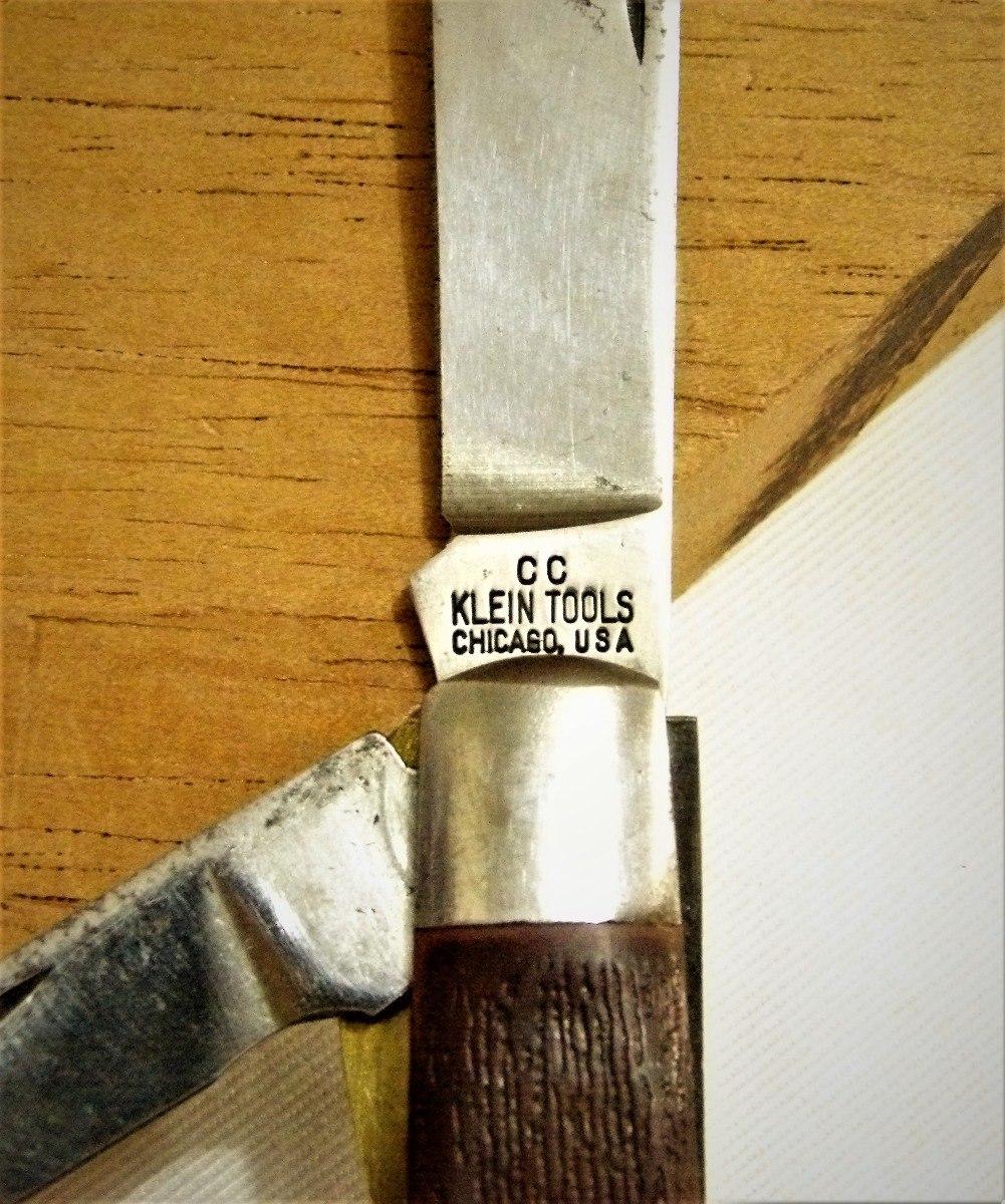 Cuchillo De Colección  Klein Tools, Made In Usa - S/ 60,00