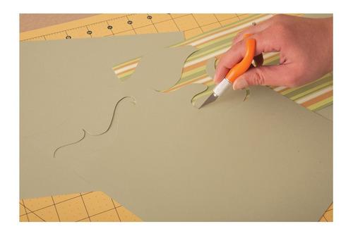 cuchillo de dedos para detalles, bricolaje y arte fiskars