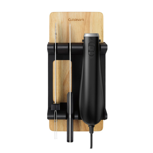 cuchillo eléctrico base madera cuisinart cek-41es