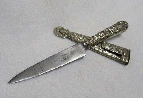 cuchillo facón alpaca acero juca tandil argentina 26 cm