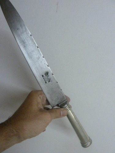 cuchillo facon atahualpa 29cm. de hoja de alpaca daga
