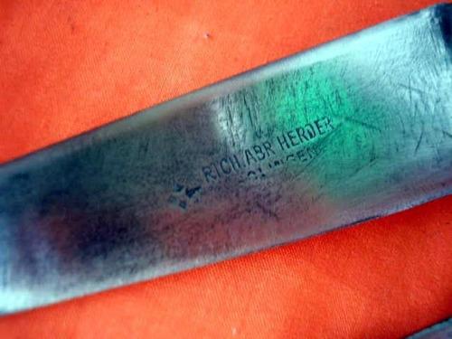 cuchillo herder rombo virola plata  plateria criolla