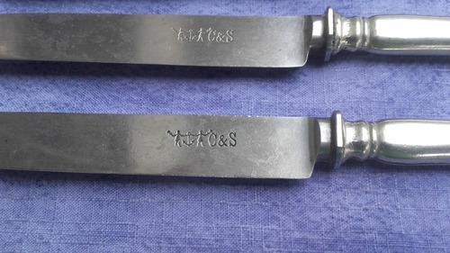 cuchillo hoja paleta c&s acero carbono germania