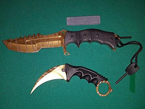 cuchillo huntsman karambit and huntsman knife 2 p buho store