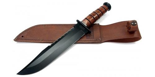 cuchillo ka-bar tactico big brother 2217 combate - original