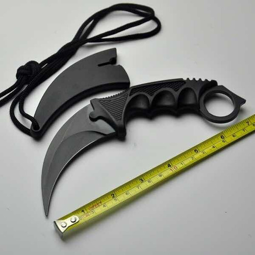 cuchillo karambit negro