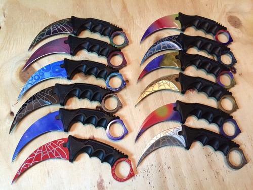 cuchillo karambit tactico cs go