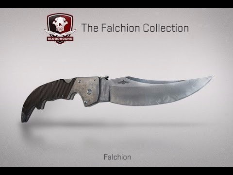 Cuchillo Knife Falchion Alfanje Vanilla Csgo Steam