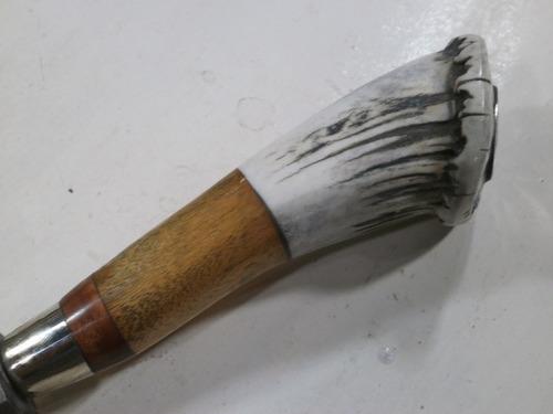 cuchillo lapacho solingen 34 cm  guampa madera alpaca 070319