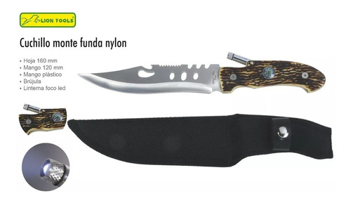 cuchillo lion tools modelo 8027