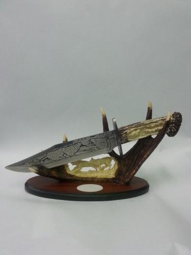 cuchillo lobo coleccionable