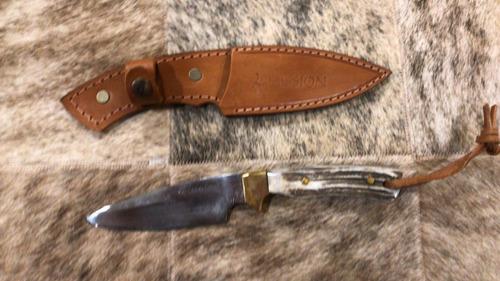 cuchillo mission de caza encabado asta. directo de  fabrica!
