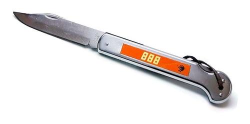 cuchillo navaja 007 cacha de metal (888)