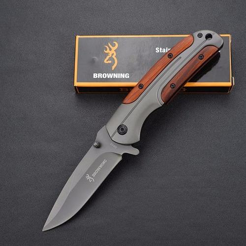 cuchillo navaja browning da43 con clip