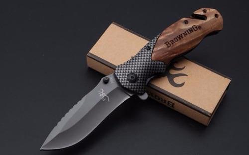 cuchillo navaja browning x50 con clip