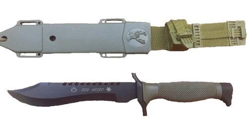 cuchillo oso negro pack 2u tactico militar  hko2