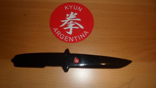 cuchillo para entrenamiento - en aluminio macizo
