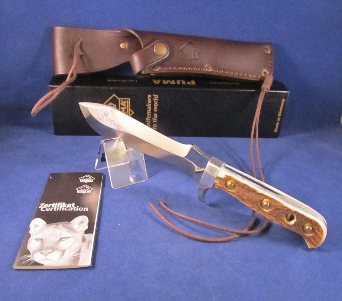 cuchillo puma white hunter