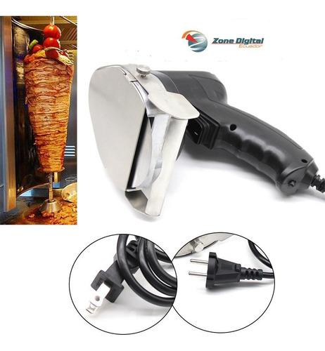 cuchillo rebanador electrico shawarma pavo pollo  cerdo