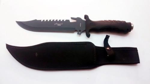 cuchillo tactico caceria  negro m0898 envio incluido