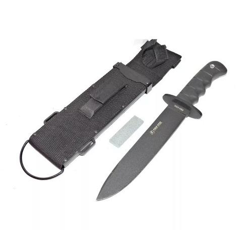 cuchillo tactico cold steel piedra afilar funda rigida