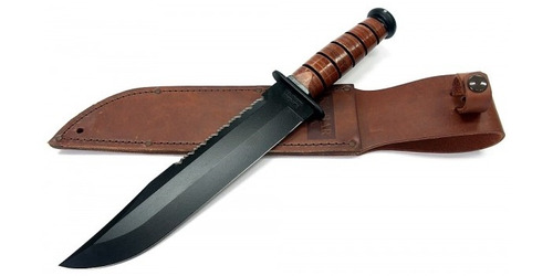 cuchillo táctico ka-bar big brother 2217 combate - made usa