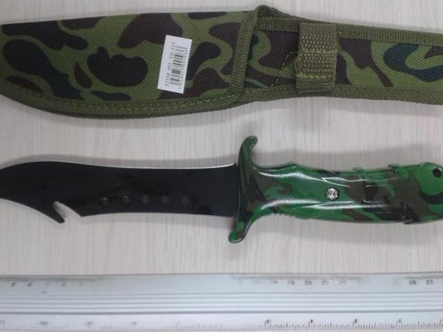 cuchillo tactico militar camuflado cambrick