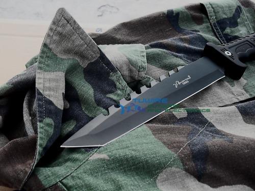 cuchillo  tactico  tanto 34.5 cms con funda