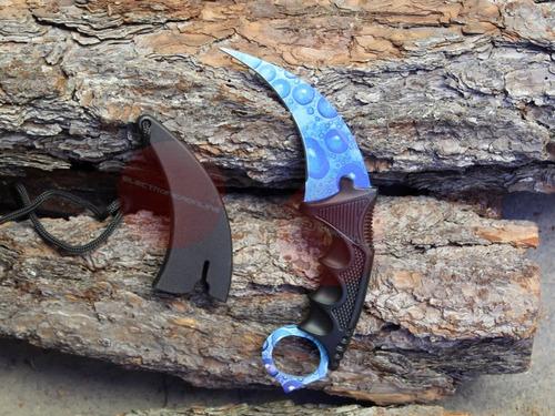 cuchillo tipo karambit navaja tactica supervivencia caceria