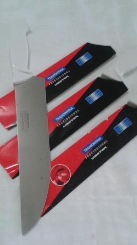 cuchillo tramontina 10 pulg  acero inoxidable