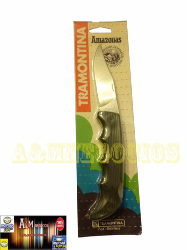 cuchillo tramontina amazonas - caza pesca camping