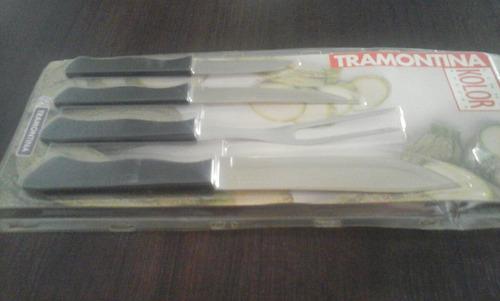 cuchillo tramontina set de asado envío gratis en cap fed