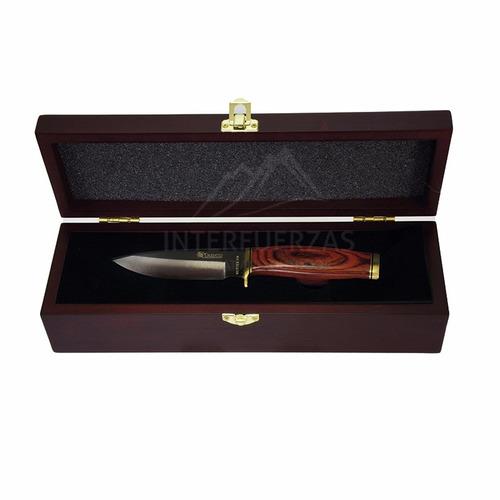 cuchillo trento hunter 520 campo asado acero 420