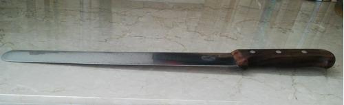 cuchillo victorinox origen suiza, p/ cortar jamón, impecable