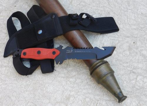 cuchillo yarara bombero original tactico auxilio acero