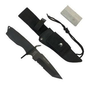 cuchillo yarara tactico policial halcon con funda